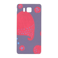 Lollipop Attacked By Hearts Samsung Galaxy Alpha Hardshell Back Case