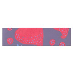Lollipop Attacked By Hearts Satin Scarf (oblong)