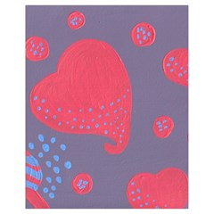 Lollipop Attacked By Hearts Drawstring Bag (small)