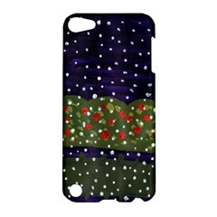 Snowy Roses Apple Ipod Touch 5 Hardshell Case
