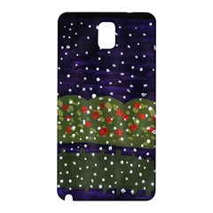 Snowy Roses Samsung Galaxy Note 3 N9005 Hardshell Back Case