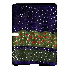 Snowy Roses Samsung Galaxy Tab S (10 5 ) Hardshell Case
