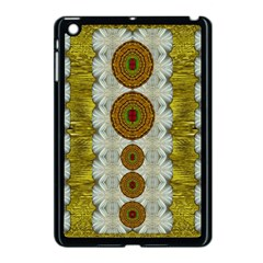Spring In Mind And Flowers In Soul Be Happy Apple Ipad Mini Case (black)