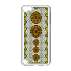 Spring In Mind And Flowers In Soul Be Happy Apple Ipod Touch 5 Case (white)