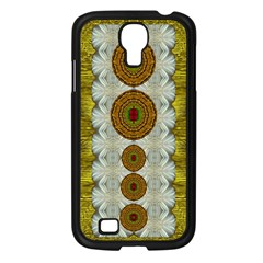 Spring In Mind And Flowers In Soul Be Happy Samsung Galaxy S4 I9500/ I9505 Case (black)