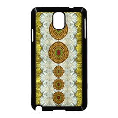 Spring In Mind And Flowers In Soul Be Happy Samsung Galaxy Note 3 Neo Hardshell Case (black)
