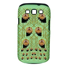 Lady Panda With Hat And Bat In The Sunshine Samsung Galaxy S Iii Classic Hardshell Case (pc+silicone)
