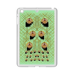 Lady Panda With Hat And Bat In The Sunshine Ipad Mini 2 Enamel Coated Cases