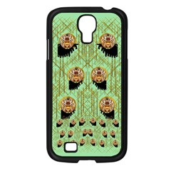 Lady Panda With Hat And Bat In The Sunshine Samsung Galaxy S4 I9500/ I9505 Case (black)