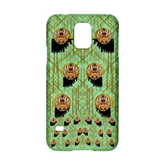 Lady Panda With Hat And Bat In The Sunshine Samsung Galaxy S5 Hardshell Case