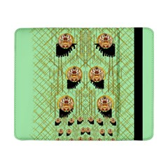 Lady Panda With Hat And Bat In The Sunshine Samsung Galaxy Tab Pro 8 4  Flip Case