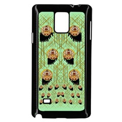 Lady Panda With Hat And Bat In The Sunshine Samsung Galaxy Note 4 Case (black)