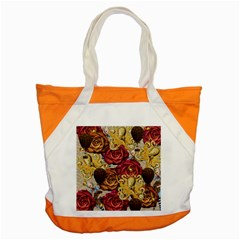 Octopus Floral Accent Tote Bag