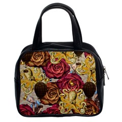 Octopus Floral Classic Handbags (2 Sides)