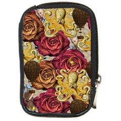 Octopus Floral Compact Camera Cases