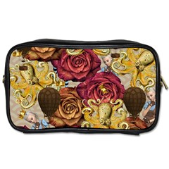 Octopus Floral Toiletries Bags