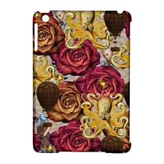 Octopus Floral Apple Ipad Mini Hardshell Case (compatible With Smart Cover)
