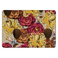 Octopus Floral Samsung Galaxy Tab 8 9  P7300 Flip Case