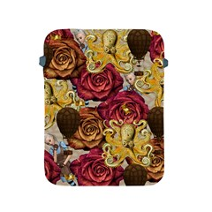 Octopus Floral Apple Ipad 2/3/4 Protective Soft Cases