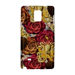Octopus Floral Samsung Galaxy Note 4 Hardshell Case