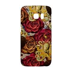 Octopus Floral Galaxy S6 Edge