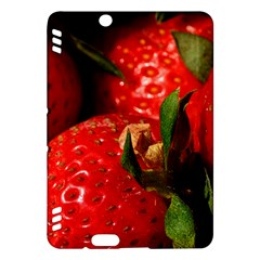 Red Strawberries Kindle Fire Hdx Hardshell Case