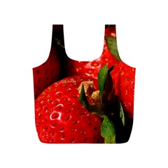 Red Strawberries Full Print Recycle Bags (s)