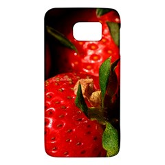 Red Strawberries Galaxy S6