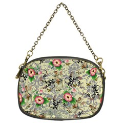 Angel Floral Chain Purses (one Side)
