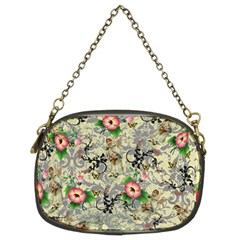 Angel Floral Chain Purses (two Sides)