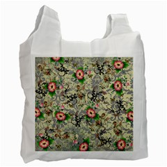 Angel Floral Recycle Bag (one Side)