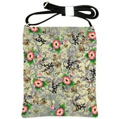 Angel Floral Shoulder Sling Bags
