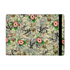 Angel Floral Apple Ipad Mini Flip Case