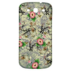 Angel Floral Samsung Galaxy S3 S Iii Classic Hardshell Back Case