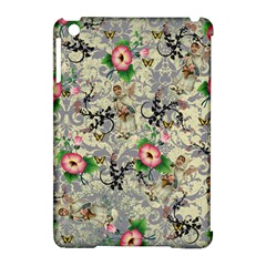 Angel Floral Apple Ipad Mini Hardshell Case (compatible With Smart Cover)