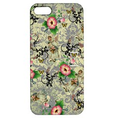 Angel Floral Apple Iphone 5 Hardshell Case With Stand