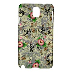 Angel Floral Samsung Galaxy Note 3 N9005 Hardshell Case