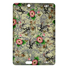 Angel Floral Amazon Kindle Fire Hd (2013) Hardshell Case