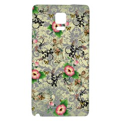 Angel Floral Galaxy Note 4 Back Case