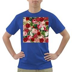Rose Bushes Dark T Shirt