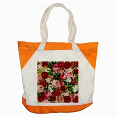 Rose Bushes Accent Tote Bag