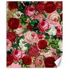 Rose Bushes Canvas 8  X 10