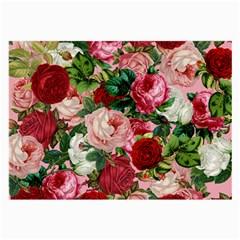 Rose Bushes Large Glasses Cloth (2 Side)