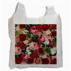 Rose Bushes Recycle Bag (one Side)