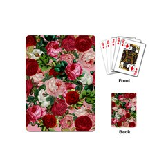 Rose Bushes Playing Cards (mini)