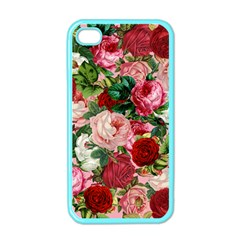 Rose Bushes Apple Iphone 4 Case (color)