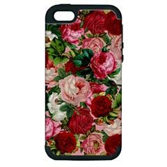 Rose Bushes Apple Iphone 5 Hardshell Case (pc+silicone)