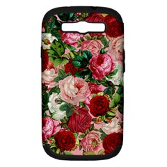 Rose Bushes Samsung Galaxy S Iii Hardshell Case (pc+silicone)