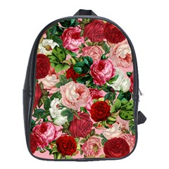 Rose Bushes School Bag (xl)