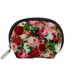 Rose Bushes Accessory Pouches (small)